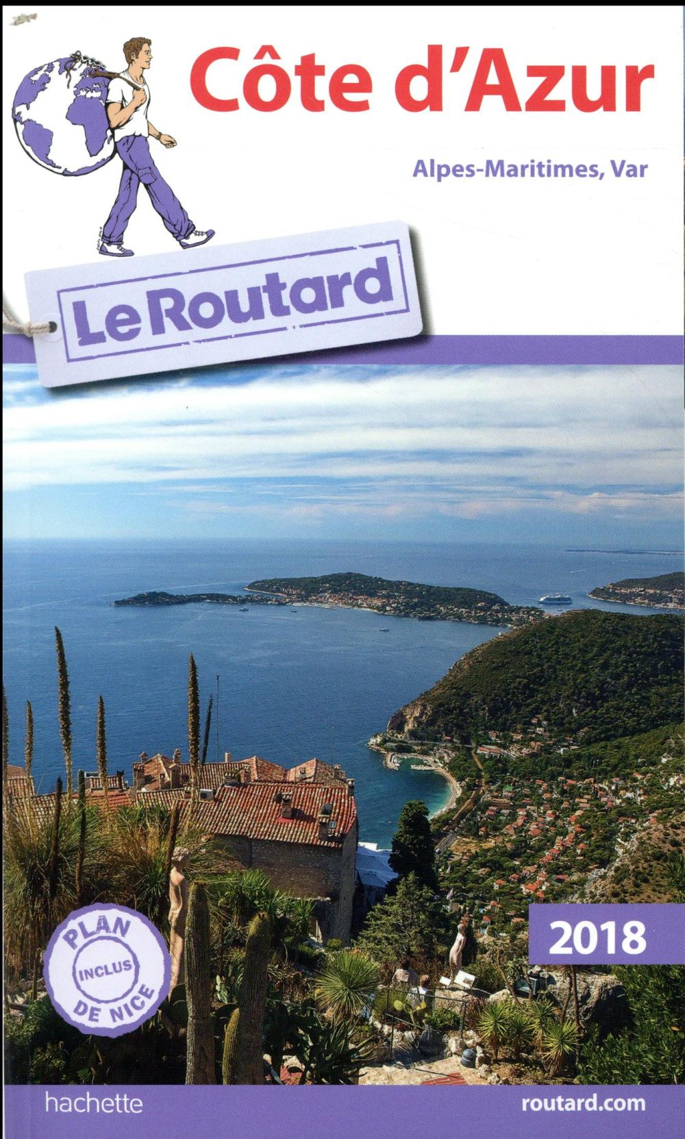 GUIDE DU ROUTARD COTE D'AZUR 2018